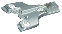 Plaque de montage Face-Frame HETTICH System 8000, montage d'angle, à visser