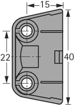 Ferrements d'assemblage trapézoïdaux HETTICH TZ 4 TD