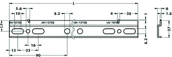 Rails de suspension