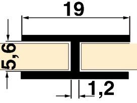 Profilo di congiunzione schienali