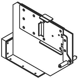 Staffa centrale per Sistema per letti ribaltabili