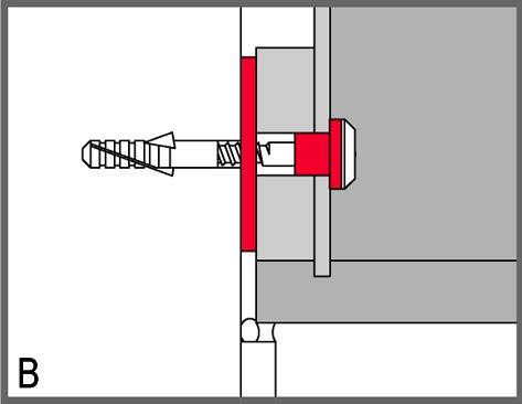 Isolamento acustico rosette in gomma STAUFFER