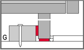 Isolation acoustique bande en caoutchouc STAUFFER