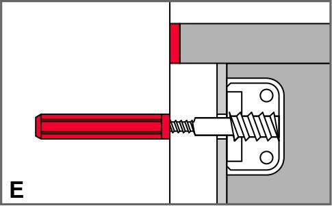 Isolamento acustico tassello in gomma con e senza flange STAUFFER