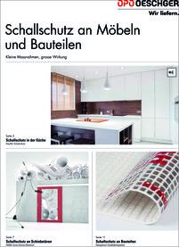 Schallschutz an Möbeln und Bauteilen, allemand