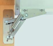 Compas pour abattants avec frein HETTICH Lift 90 Alu