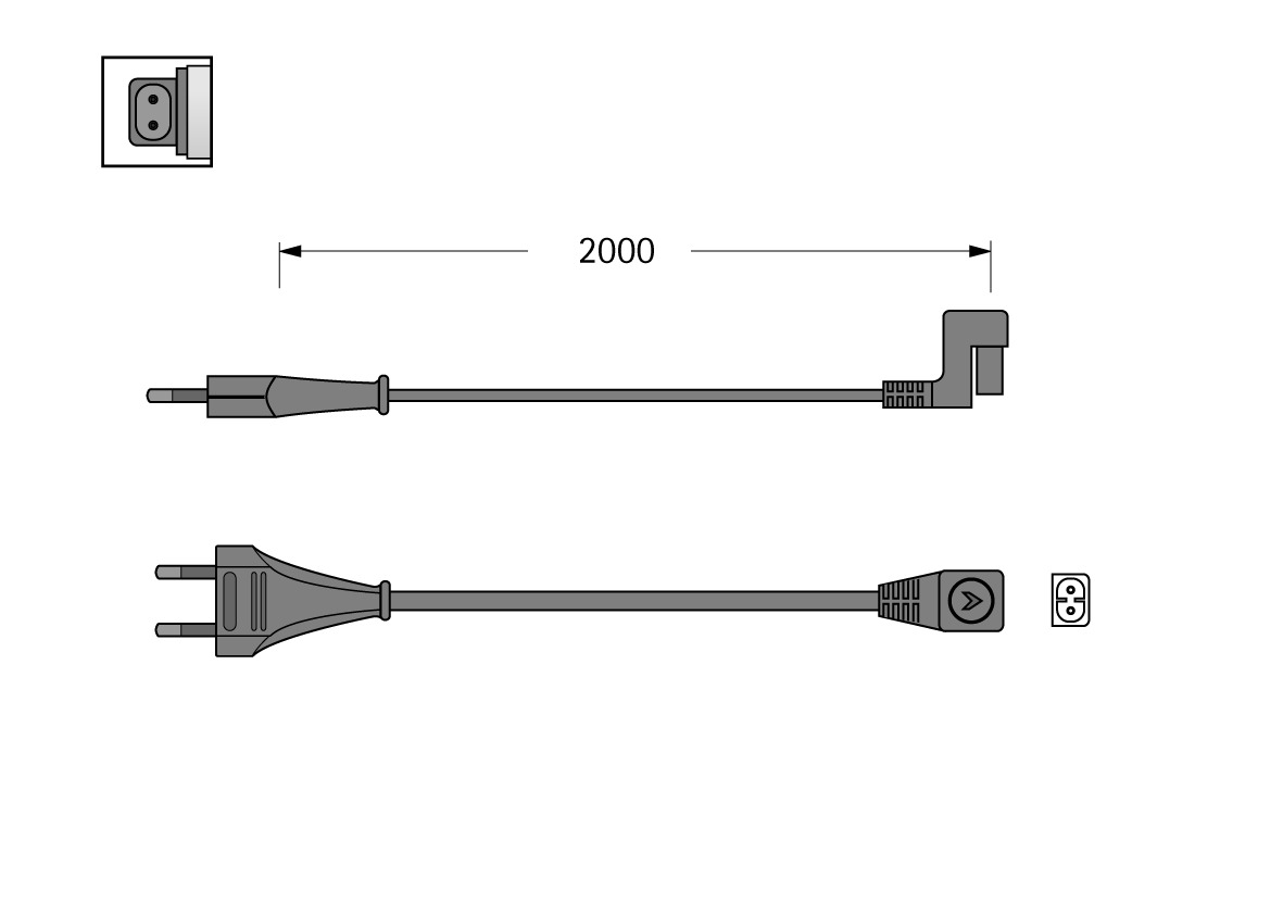 Câbles de rallonges HV HALEMEIER 230 V
