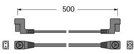 Conduites de raccordement HALEMEIER LiteLine Basic 230 V