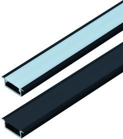 LED Einbauprofil HALEMEIER Versa ChannelLine C 26/1.5 mm mit Lichtblende