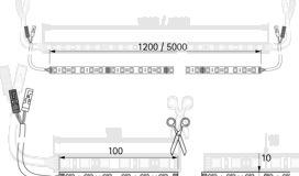 Kit completo bandes de LED HALEMEIER Versa Inside MultiColor RGB / 24 V