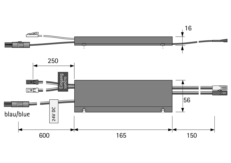Amplificateur de signal HALEMEIER MultiColor Repeater 24 V
