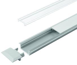 LED Einbauprofile HALEMEIER ChannelLine C mit Lichtblende