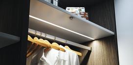 Profils d'encastrement LED HALEMEIER Versa ChannelLine C avec ecrans