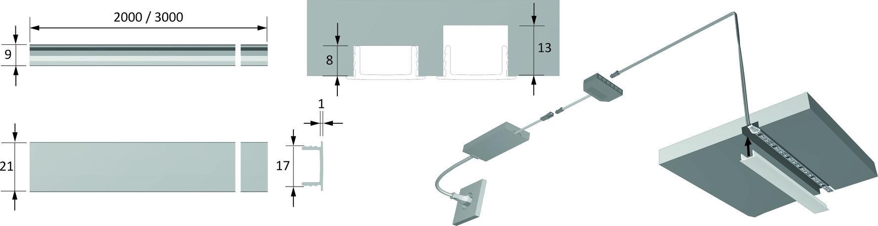 Ecrans LED HALEMEIER ChannelLine F