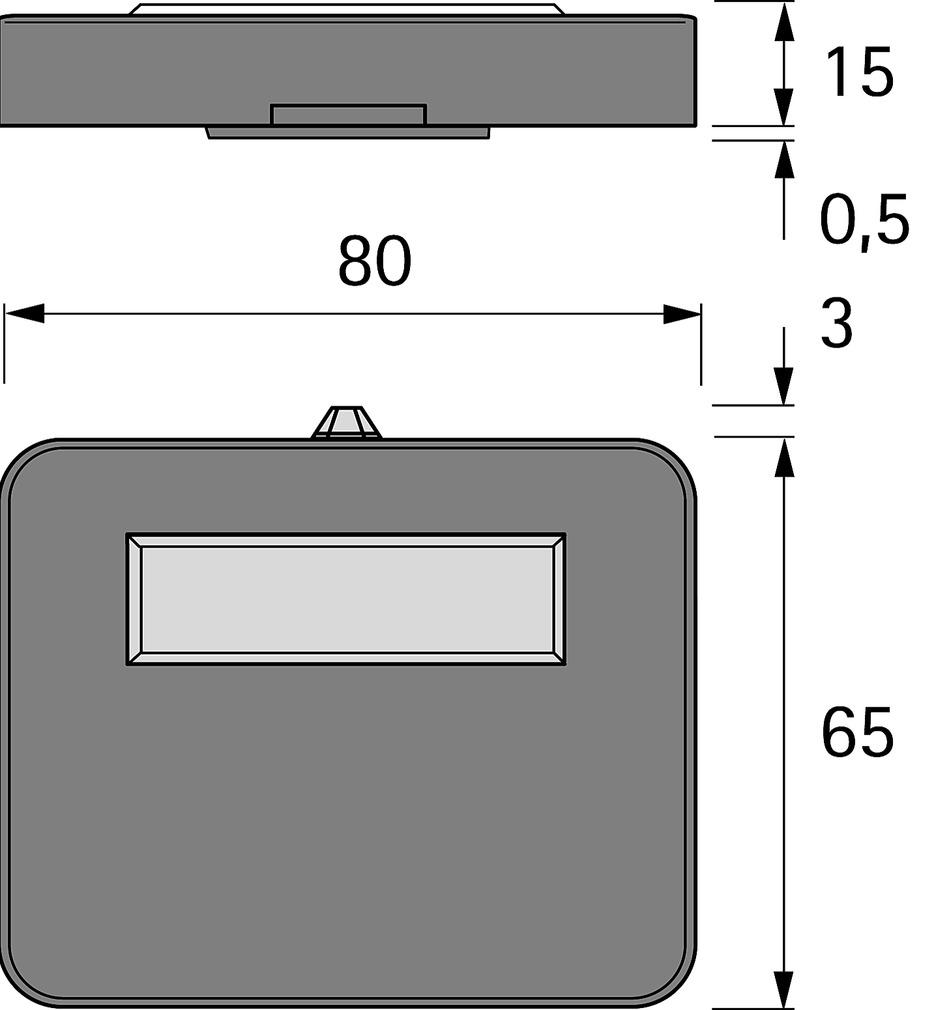Lampes LED en appliques HALEMEIER AlphaLite de Mini USB