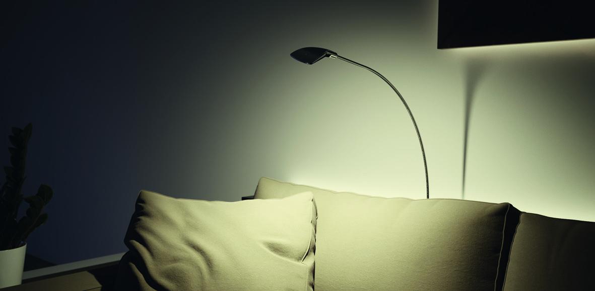 Kit di lampade LED esterne HALEMEIER SwanLite lampada di lettura 12 V