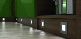 Lampes encastrables LED HALEMEIER QuadroPoint square 12 V