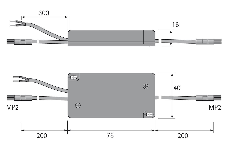 Variateur commutateur HALEMEIER 24 V interface 1 - 10 V