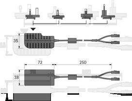 Prise ballast HALEMEIER 12 V