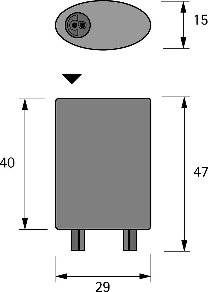 Verteiler 2 fach HALEMEIER MP 24 V