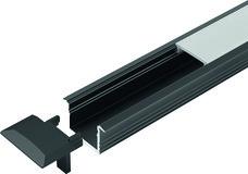 LED Einbauprofile HALEMEIER ChannelLine B mit Lichtblende