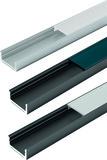 Profili per montaggio esterno o d'incassate LED HALEMEIER ChannelLine D2 con diaframmi