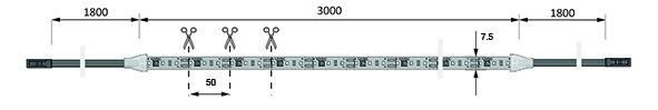 Bandes de LED HALEMEIER Versa Inside 120 / 12 V