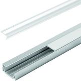 Profili per montaggio esterno o d'incassate LED HALEMEIER ChannelLine G1 con diaframmi