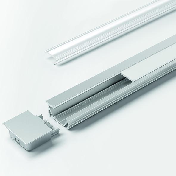 LED Einbauprofile HALEMEIER ChannelLine G2 mit Lichtblende