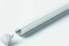 Profils d'applique HALEMEIER ChannelLine H 45°, 18/18 mm avec ecrans