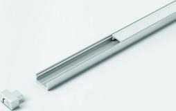 Profils d'applique HALEMEIER ChannelLine I 11/6 mm avec ecrans