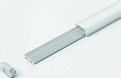 Profils d'applique HALEMEIER ChannelLine J 15/8 mm avec ecrans