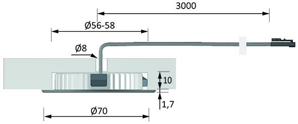 LED Ein-/Anbauleuchten HALEMEIER PowerLite Plus 12 V