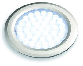 Jeu lampes encastrables/applique LED L&S Nova round 12 V