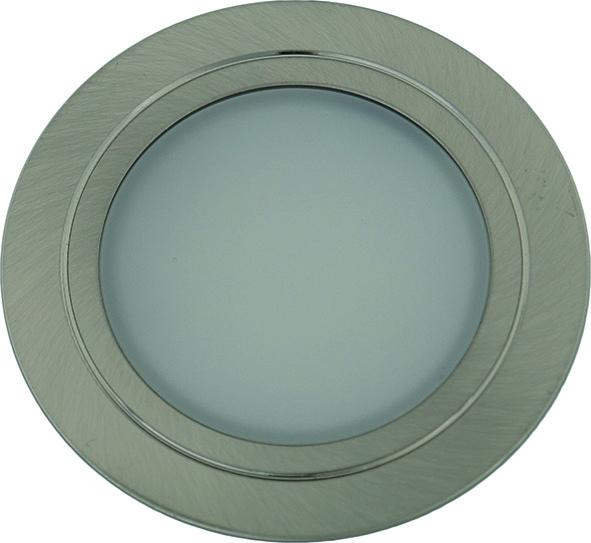 Jeu lampes encastrables/applique LED L&S Chip 58 12 V