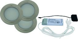 Lampes encastrables LED L&S Chip 12 V