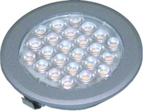 Kit de 3 lampes LED encastrables/applique Sunny II 12 V