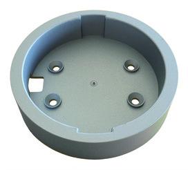 Presa di montaggio esterna per lampade LED incassate/esterne Sunny II