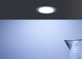 Lampes encastrables/applique LED L&S Emotion Moonlight 12 V