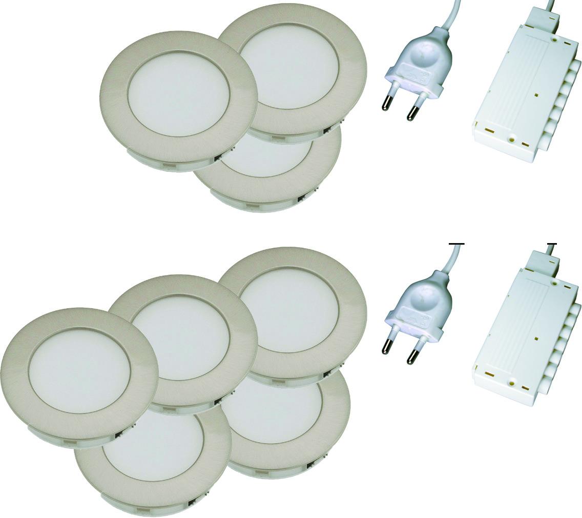 LED Einbauleuchtenset L&S Moonlight HV 230 V