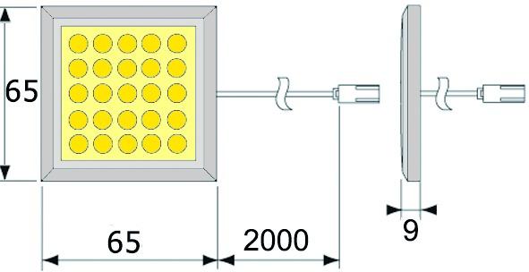 Lampade LED esterne L&S Matrix 24 V