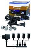 LED Terrassen-Einbauleuchtenset TerraLight 12 V