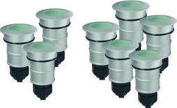 Bodeneinbauleuchten-Set Via LED, 24V