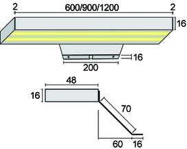 LED Aufbauleuchten Emotion Vario II 230 V