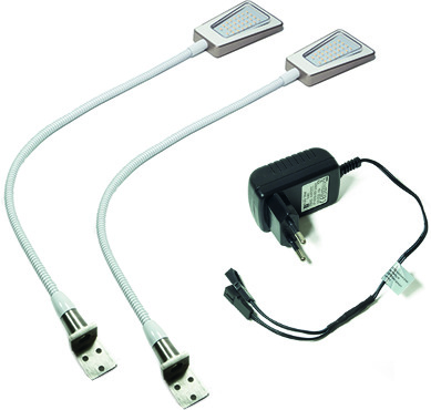 Kit di lampade LED esterne 2 pezzi Area Light, lampada di lettura 12 V