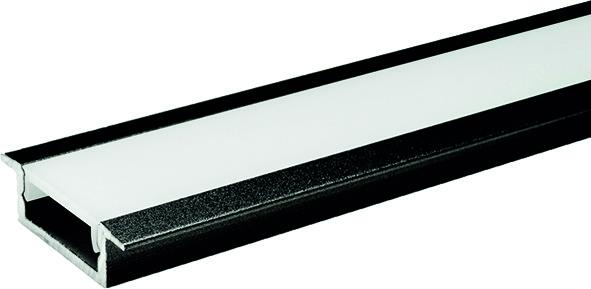 LED Einbauprofile L&S London ohne Lichtblende