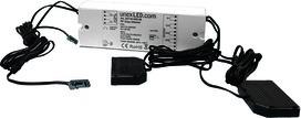 1/2 zones LED récepteur-variateur radio 12/24 V
