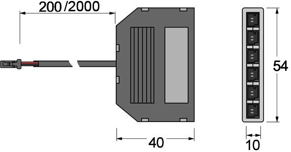 Distributore 6x L&S 12 V