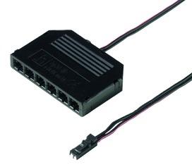 Distributeur à 6 connexions pour LED 12 V