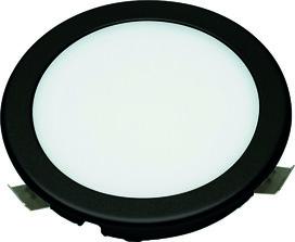 Jeu lampes encastrables/applique LED L&S Emotion Moonlight 12 V